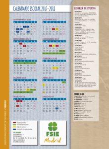 Calendario Escolar 2020 Madrid.Calendario Escolar Fsie Madrid