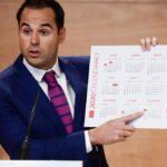 La Comunidad de Madrid tendrá en 2020 un calendario laboral con 12 días festivos.