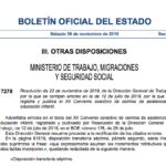 PUBLICADA EN EL BOE LA MODIFICACIÓN DEL XII CONVENIO DE INFANTIL