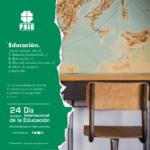 FSIE CELEBRA EL DÍA INTERNACIONAL DE LA EDUCACIÓN DEFENDIENDO EL PAPEL DE LA EDUCACIÓN COMO PILAR FUNDAMENTAL Y MOTOR DE PROGRESO