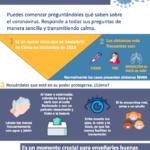 NUEVAS RECOMENDACIONES DEL MINISTERIO DE SANIDAD DIRIGIDAS A LA POBLACIÓN INFANTIL Y MEDIDAS PREVENTIVAS EN LA CONTENCIÓN DEL CORONAVIRUS