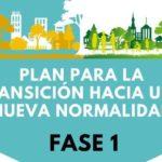 APERTURA DE LOS CENTROS EDUCATIVOS PARA SU DESINFECCIÓN Y TAREAS ADMINISTRATIVAS. FASE 1/BOE
