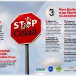 """LA PLATAFORMA CONCERTADOS PUBLICA UNA INFOGRAFÍA CON LOS MOTIVOS PARA DETENER LA """"LEY CELAÁ"""""""