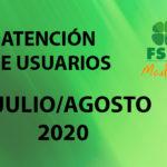 PROTOCOLO DE USUARIOS JULIO Y AGOSTO 2020