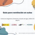 EL CSIC ELABORA UNA GUÍA DE VENTILACIÓN EN LAS AULAS BASADA EN UN ESTUDIO EXPERIMENTAL