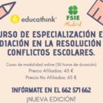 CURSO ONLINE: RESOLUCIÓN DE CONFLICTOS ESCOLARES