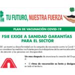 FSIE exige medidas urgentes en en el plan de vacunación