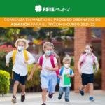 Abierto el plazo de admisión en los colegios de la Comunidad de Madrid