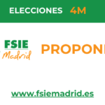 FSIE Madrid, cinco propuestas educativas para la Comunidad de Madrid