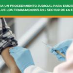 FSIE Madrid inicia un procedimiento judicial para exigir la vacunación completa de los trabajadores del sector de la educación