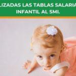 Actualizadas las tablas salariales de infantil al SMI.